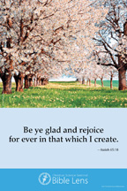 Bible Lens: Be ye glad (csps bl1)