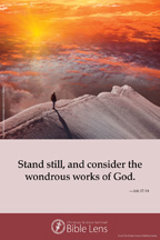 Bible Lens: Stand still, and consider (csps bl13)