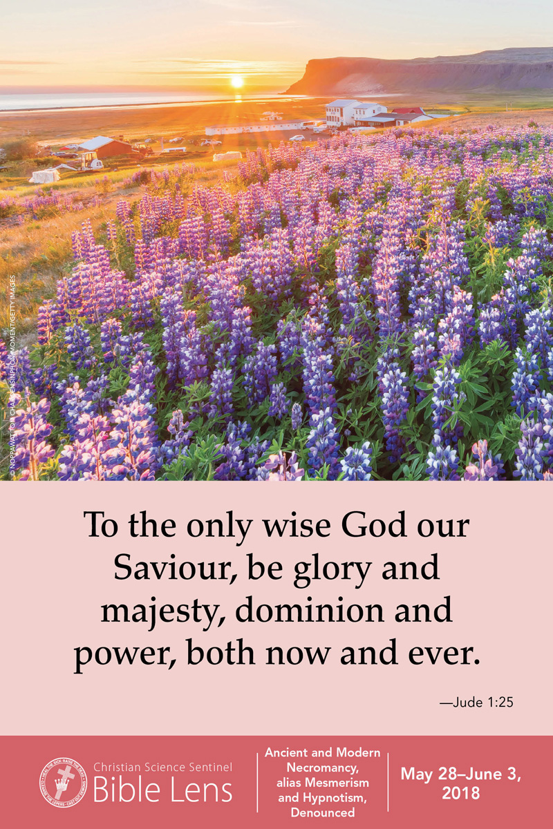 Bible Lens: To the only wise God our Saviour (csps bl18)