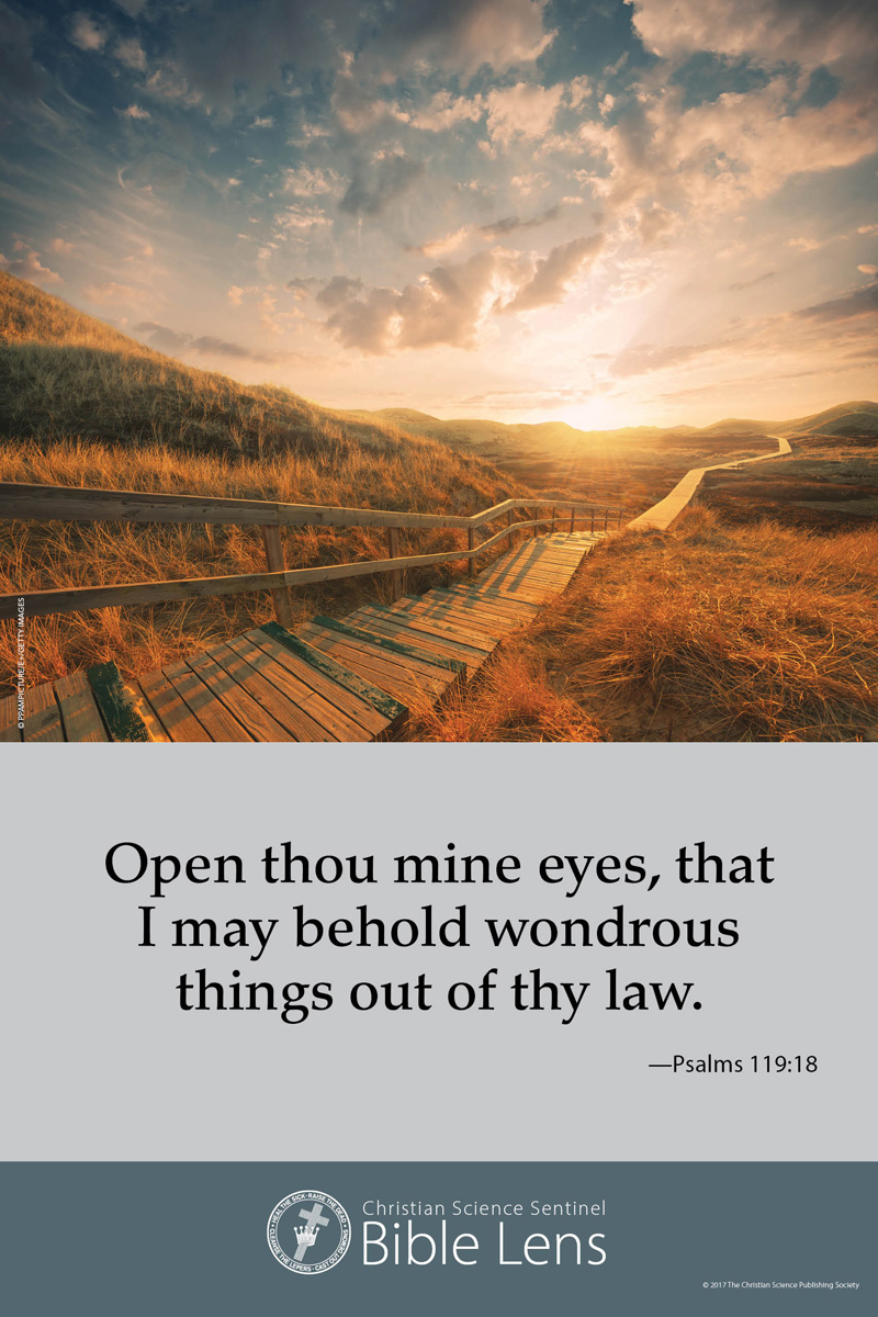 Bible Lens: Open thou mine eyes (csps bl2)
