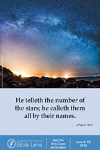 Bible Lens: He telleth the number of the stars; (csps bl20)
