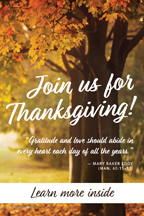 Join us for Thanksgiving II (csps S1)
