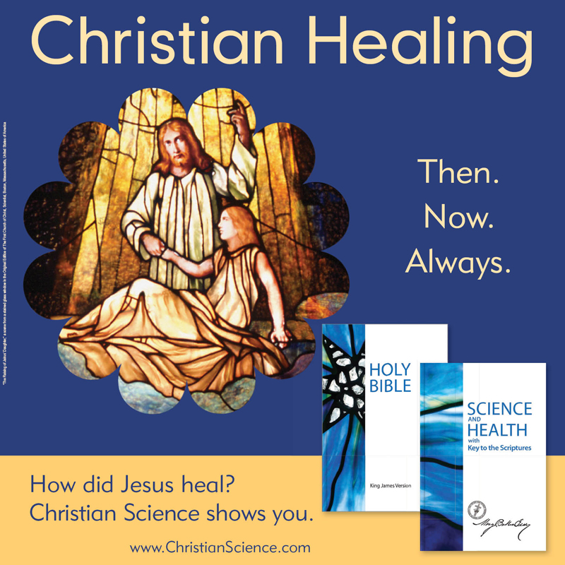 Christian Healing [square] (csps h8)