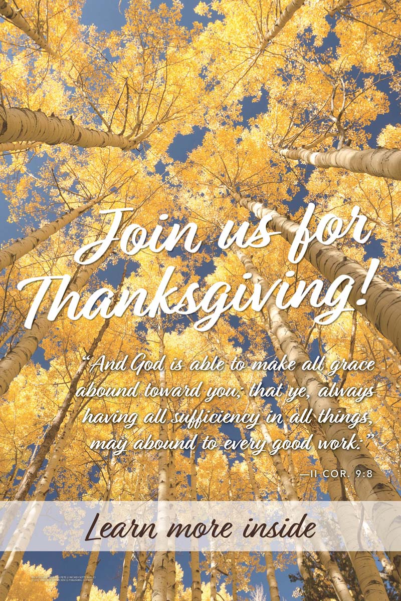 Thanksgiving Trees And God is (csps TG2)