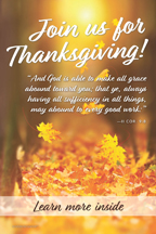 Thanksgiving Leaves And God is (csps TG5)