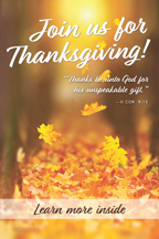 Thanksgiving Leaves Thanks be (csps TG6)