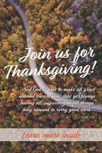 Thanksgiving Road And God (csps TG8)