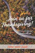 Thanksgiving Road Thanks be (csps TG9)