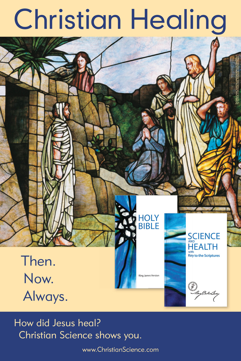Christian Healing then now always (csps i10)