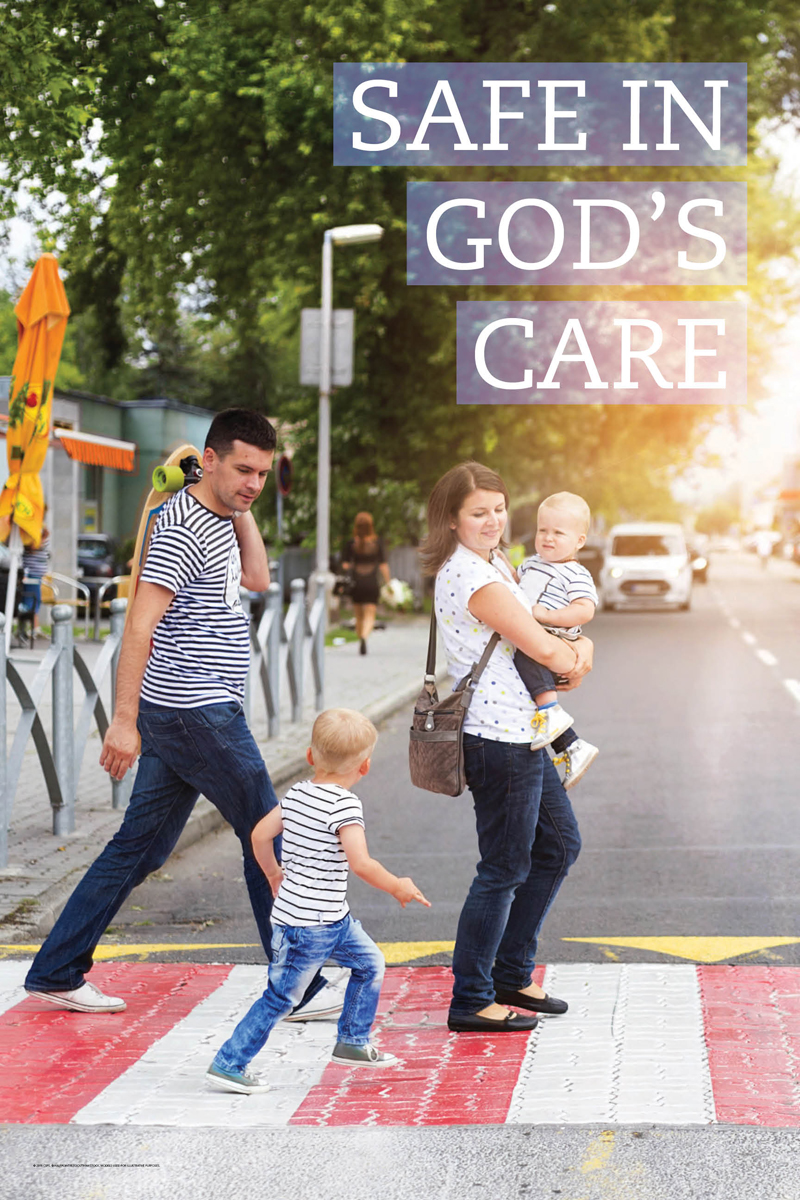 Safe in God's care (csps i5)