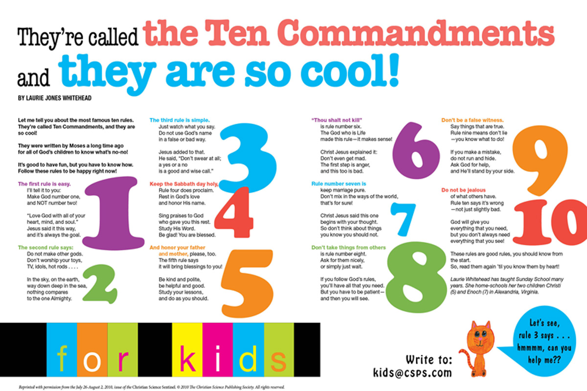 Ten  Commandments (csps k11)