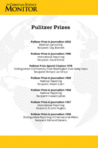 Monitor: Pulitzer Prize (csps m12)