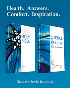 Health. Answers. Comfort. Inspiration. (csps p25)