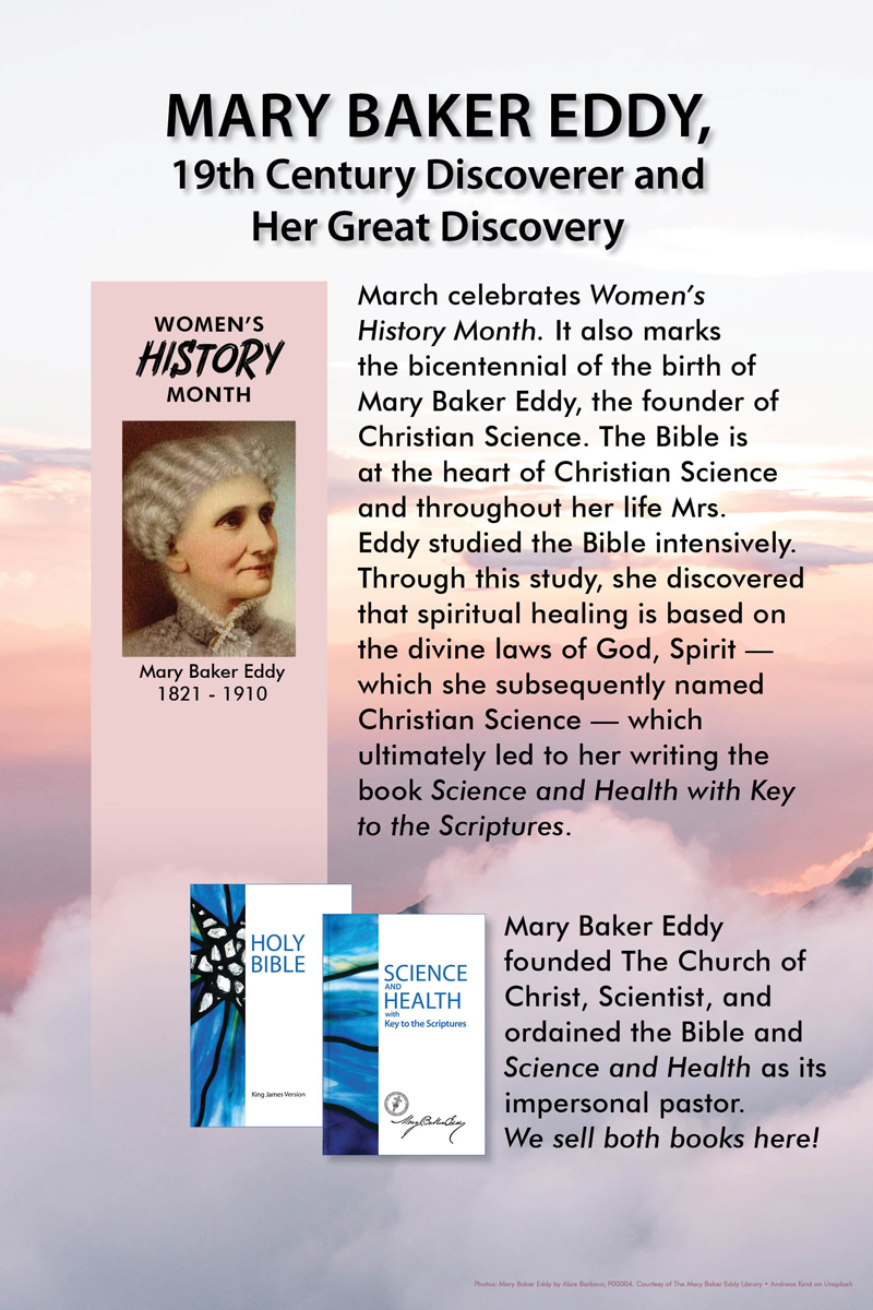 Women's History Month/MBE Bicentennial (v38)