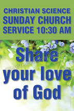 Share your love of God (CH1)