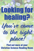 Looking for healing? (RR4)