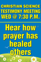 Hear how prayer has healed others (W1)