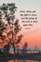 Arise, shine (v33)