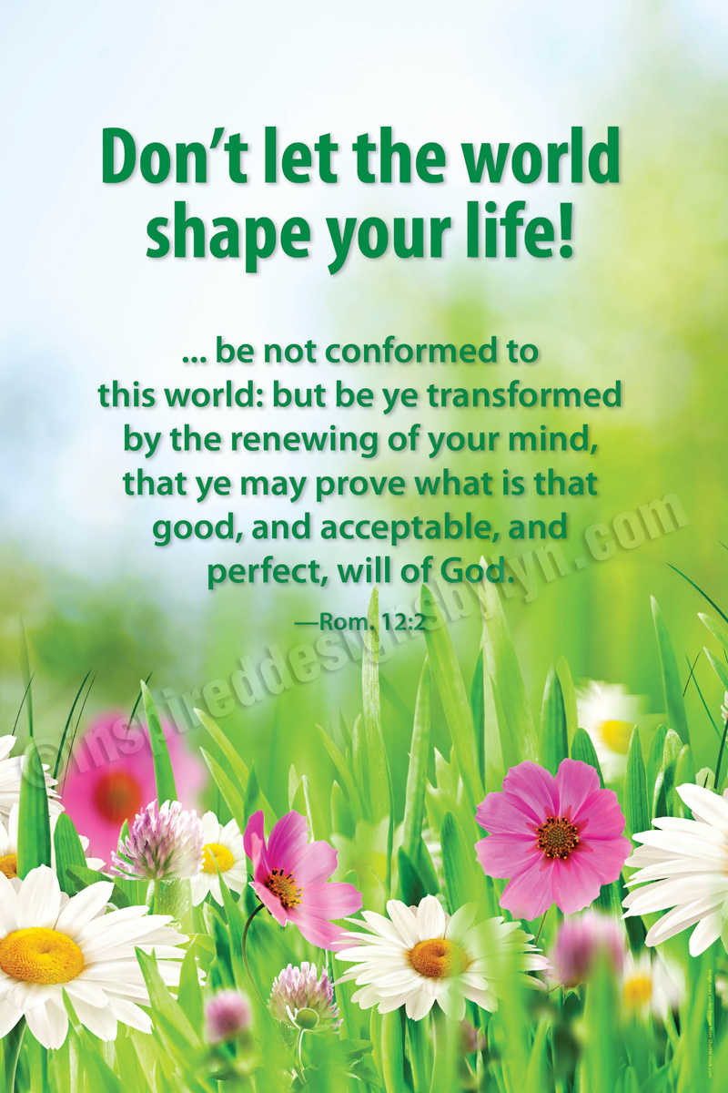 Be not conformed (V2)