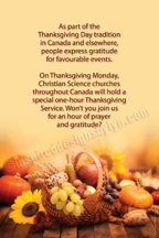 Thanksgiving Canada (V18s)