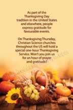 Thanksgiving USA (V19s)