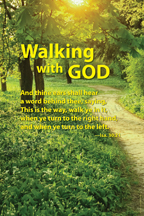 Walking with God (V13)