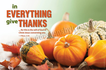 Give thanks (H20c)
