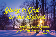 Glory to God in the highest (H27)