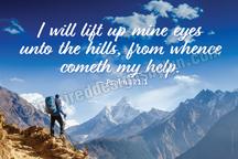 I will lift up mine eyes (H23)