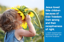Jesus loved little children (H1)