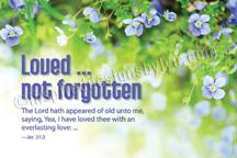 Loved not forgotten (H12)